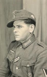 Wehrmachtssoldat Karl Paulmaier in der Uniform eines Gefreiten