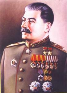 Das Bild Stalins hängt in den Gerichtssälen sowjetischer Militärtribunale.